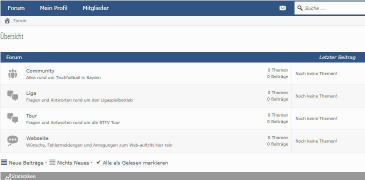 Neues BTFV Forum