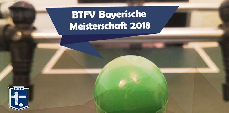 Bayerische Meisterschaft 2018 Ausschreibung