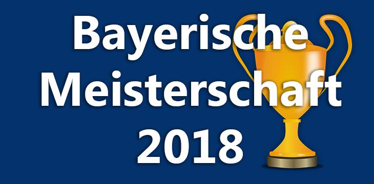 Ergebnisse der Bayerischen Meisterschaft